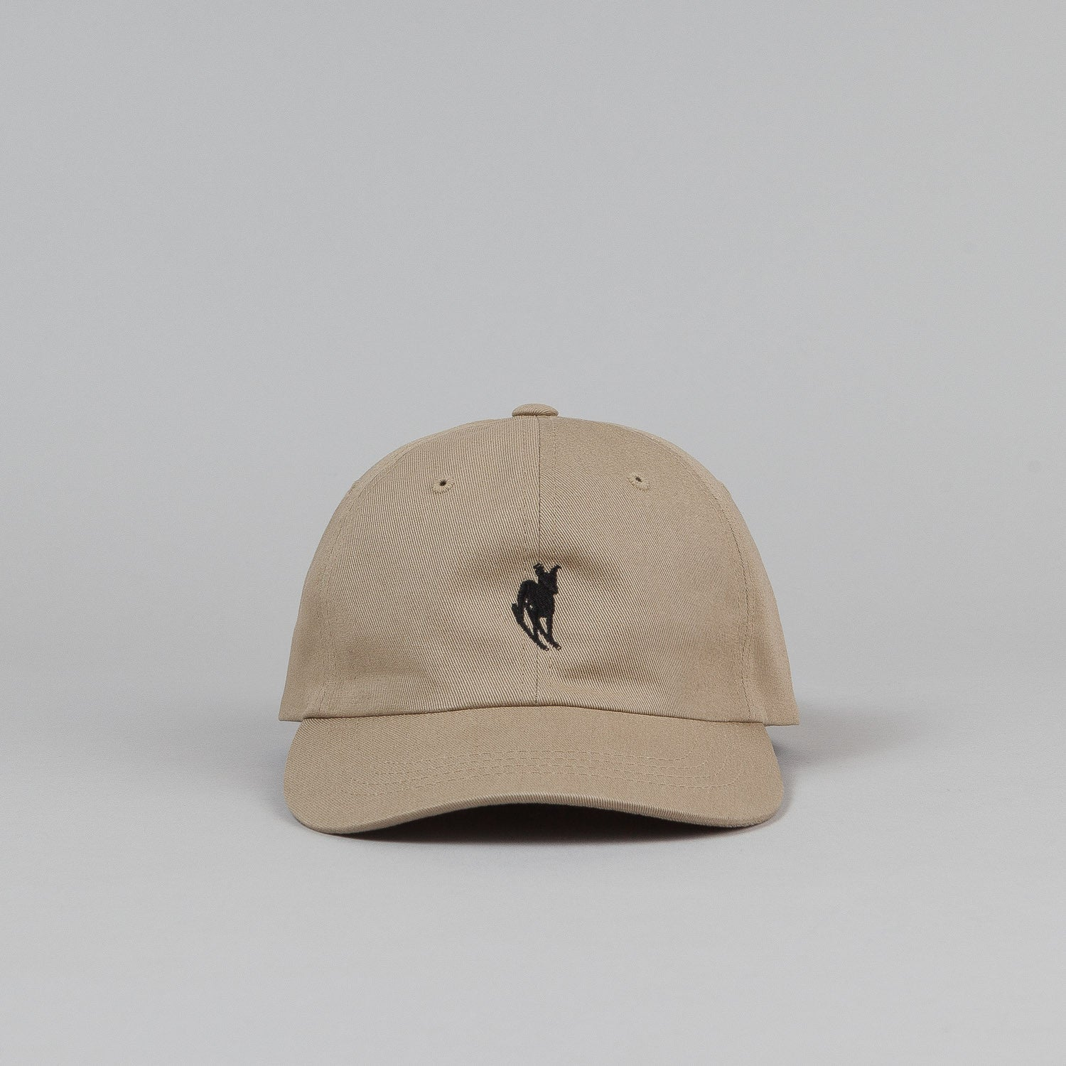 Welcome Rocking Dog Slider Cap - Khaki / Black