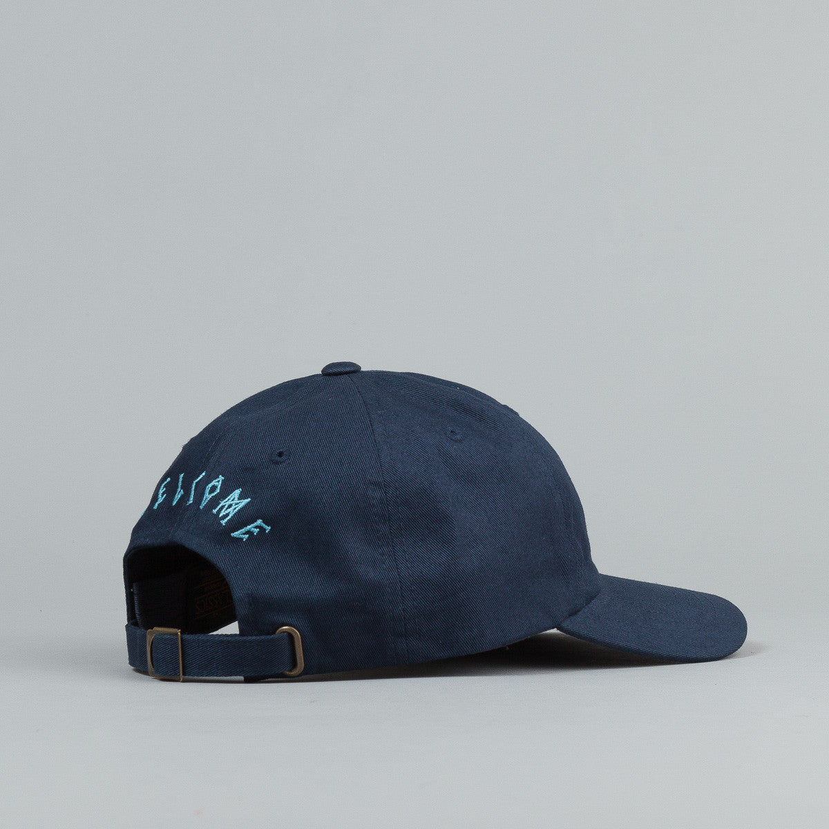 Welcome Rocking Dog Slider Cap - Navy / Light Blue