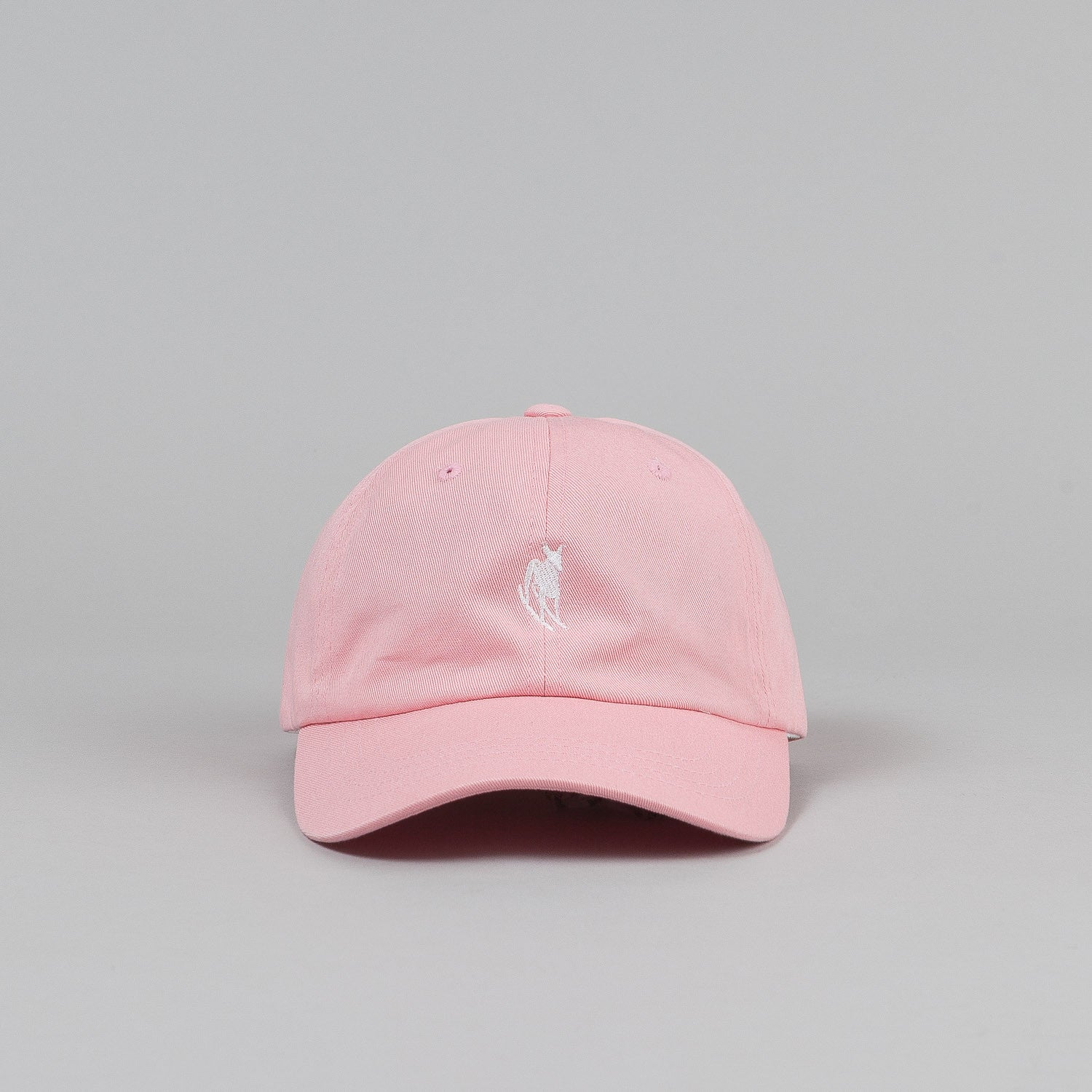 Welcome Rocking Dog Slider Cap - Pink / White