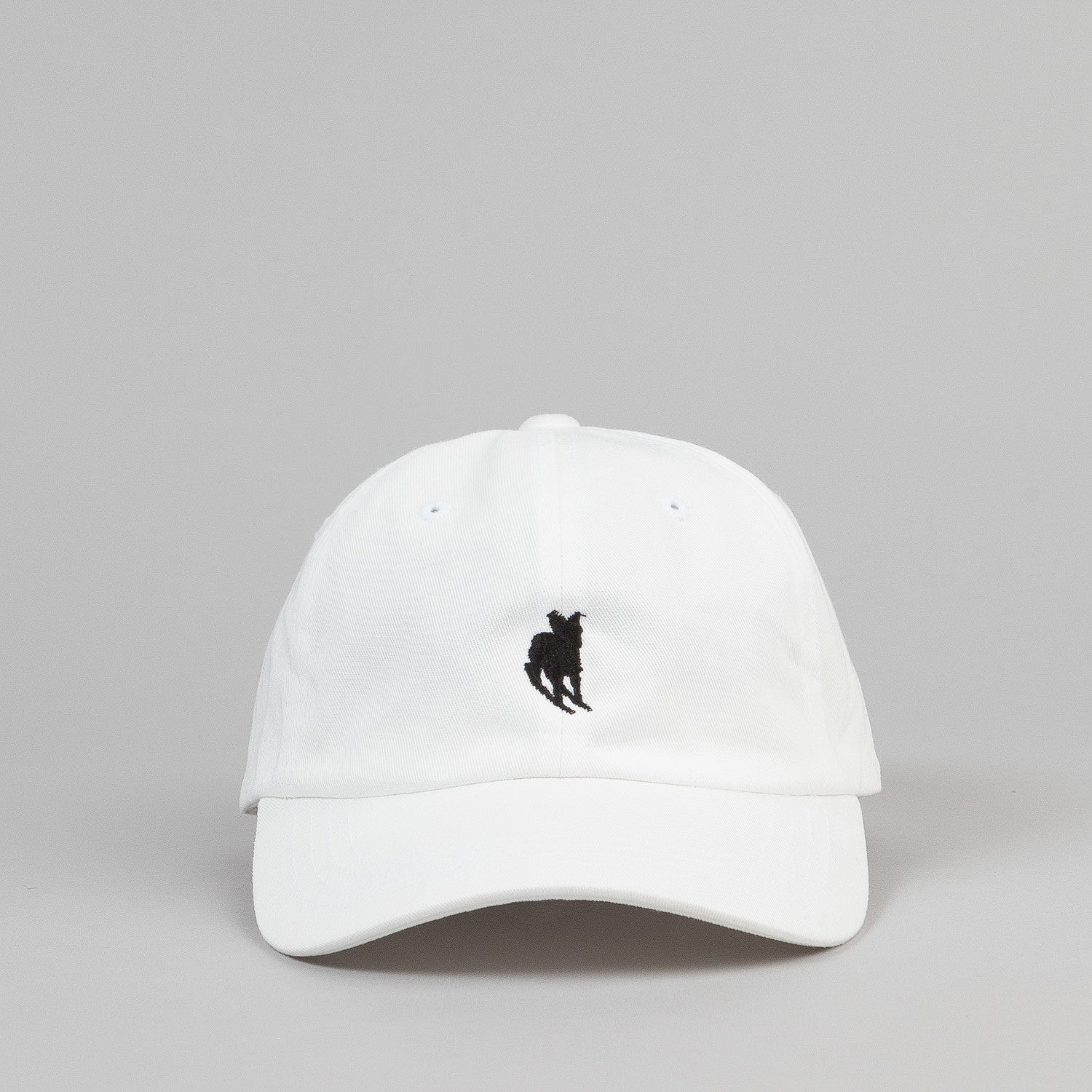 Welcome Rocking Dog Slider Cap - White / Black