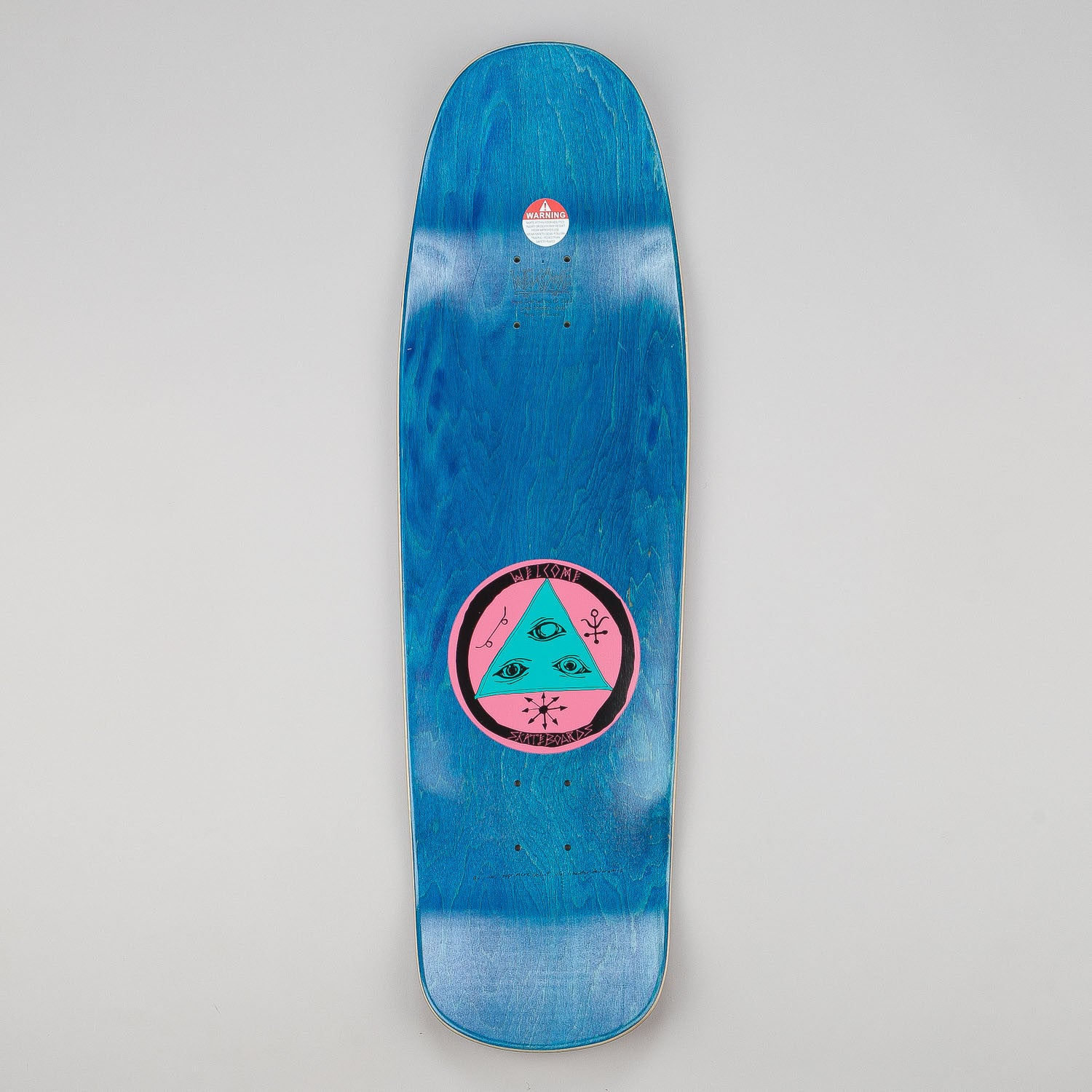 Welcome Saberskull - Slappy Slap Shape Deck 9.5