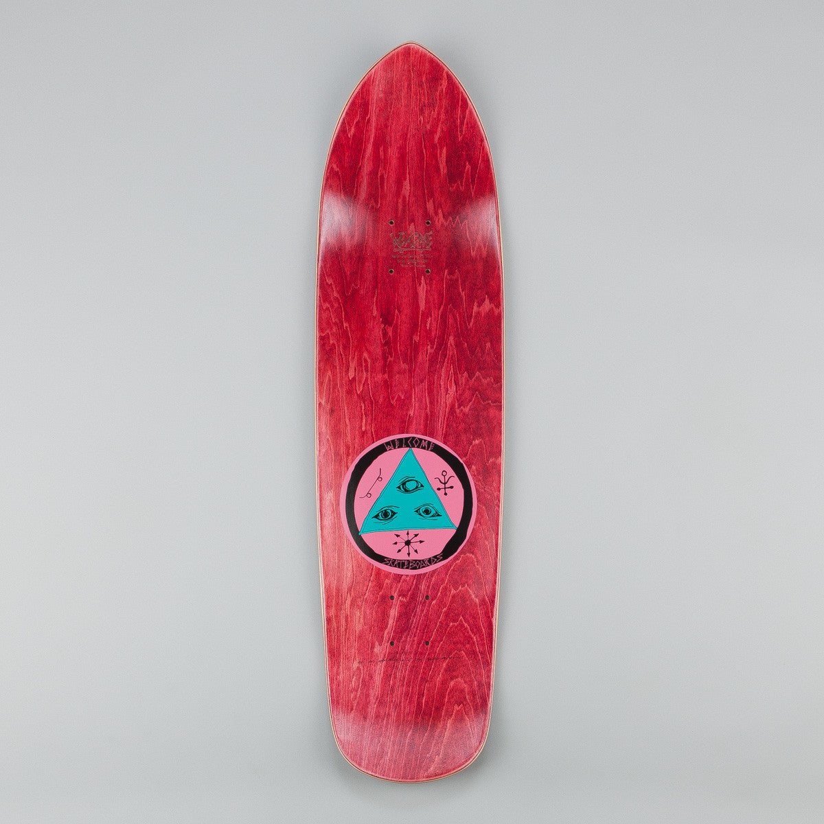 Welcome Sloth Squidbeak Deck - 8.6 Black