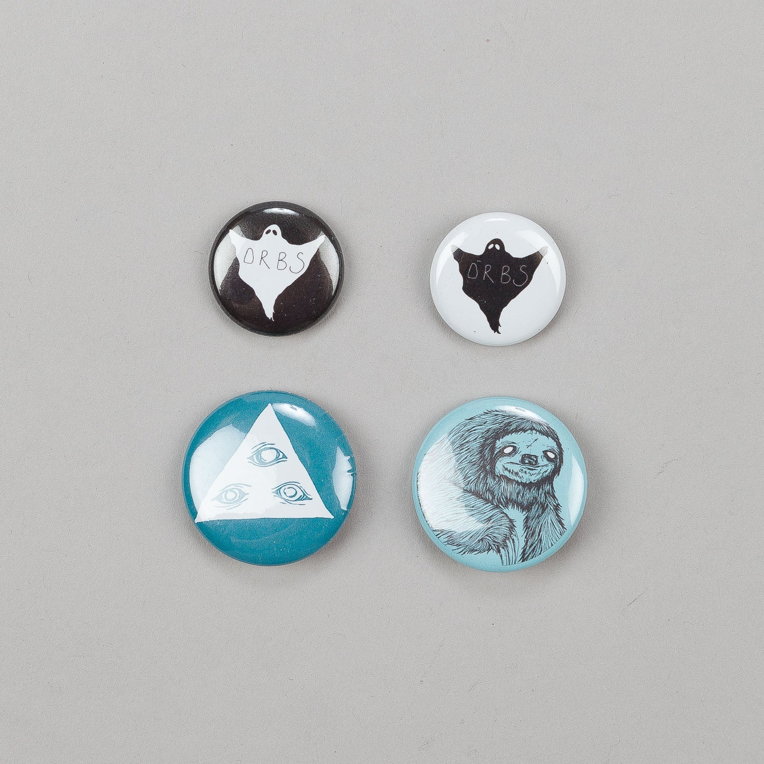 Welcome Talisman Button Badge Pack of 4