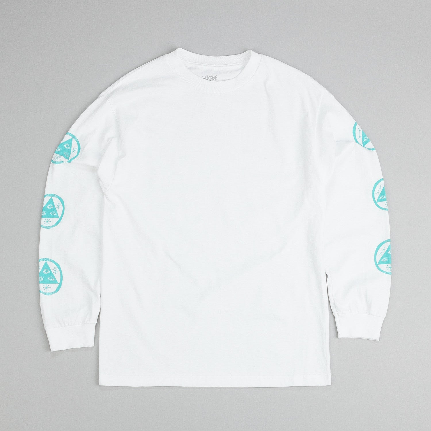 Welcome Talisman L/S T Shirt White / Mint