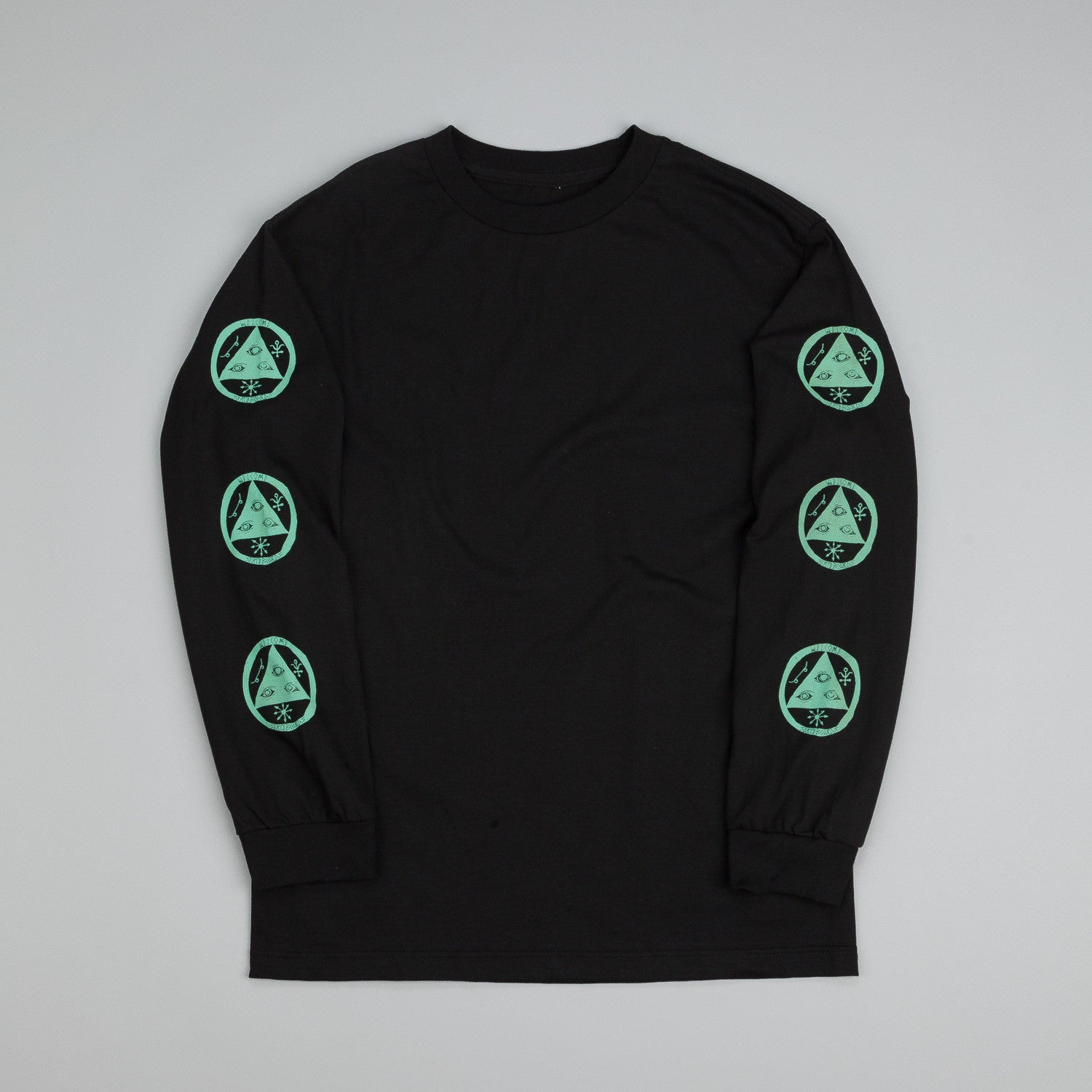 Welcome Talisman Longsleeve T Shirt Black