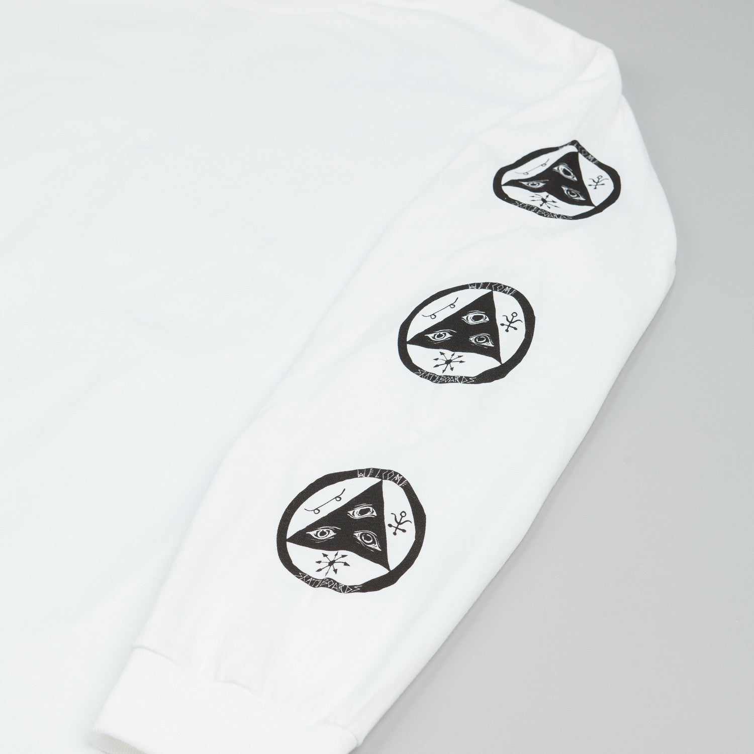 Welcome Talisman Longsleeve T Shirt White