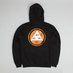 Welcome Talisman Tri Colour Pullover Black / Orange