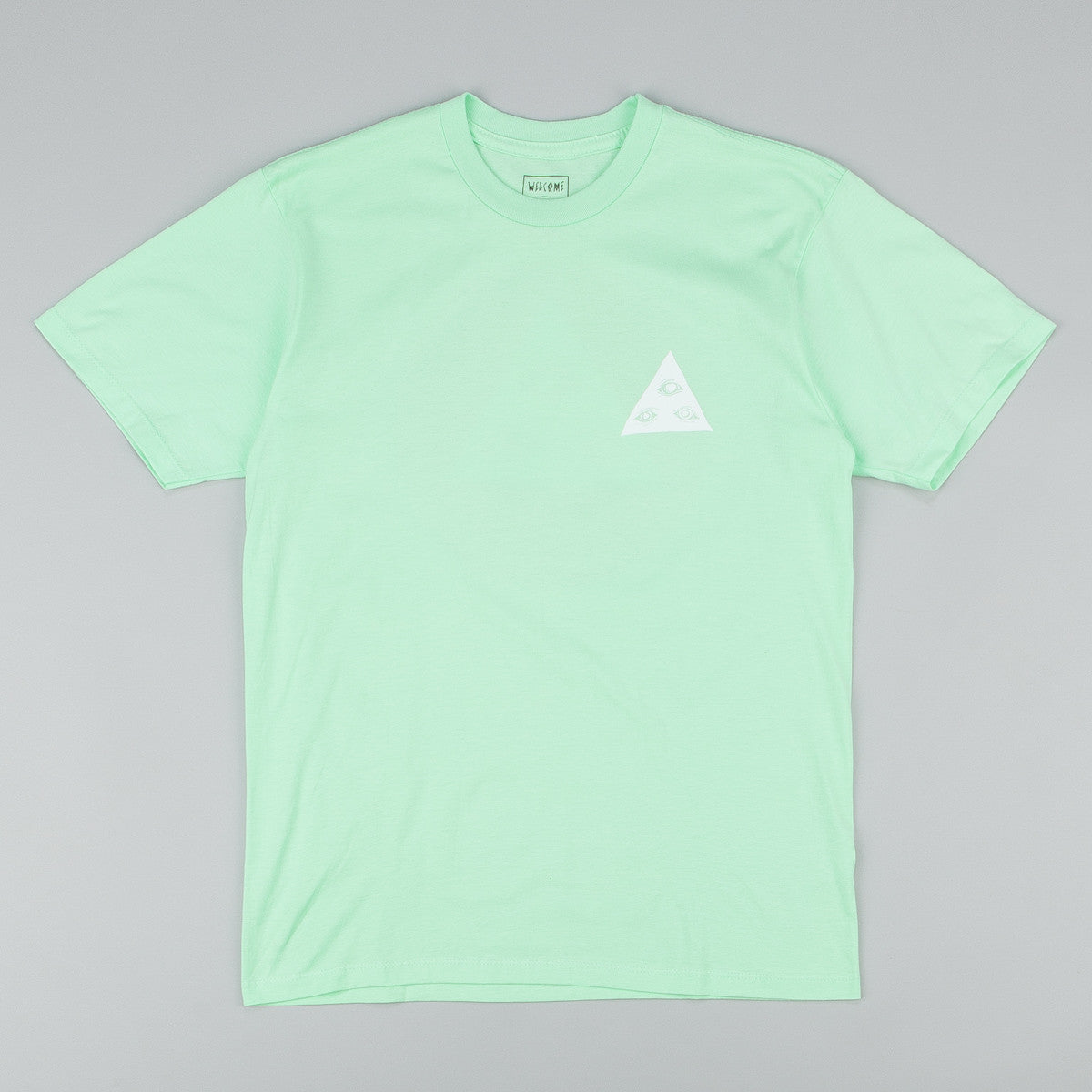 Welcome Talisman Tri-Colour T-Shirt - Mint / Red / White