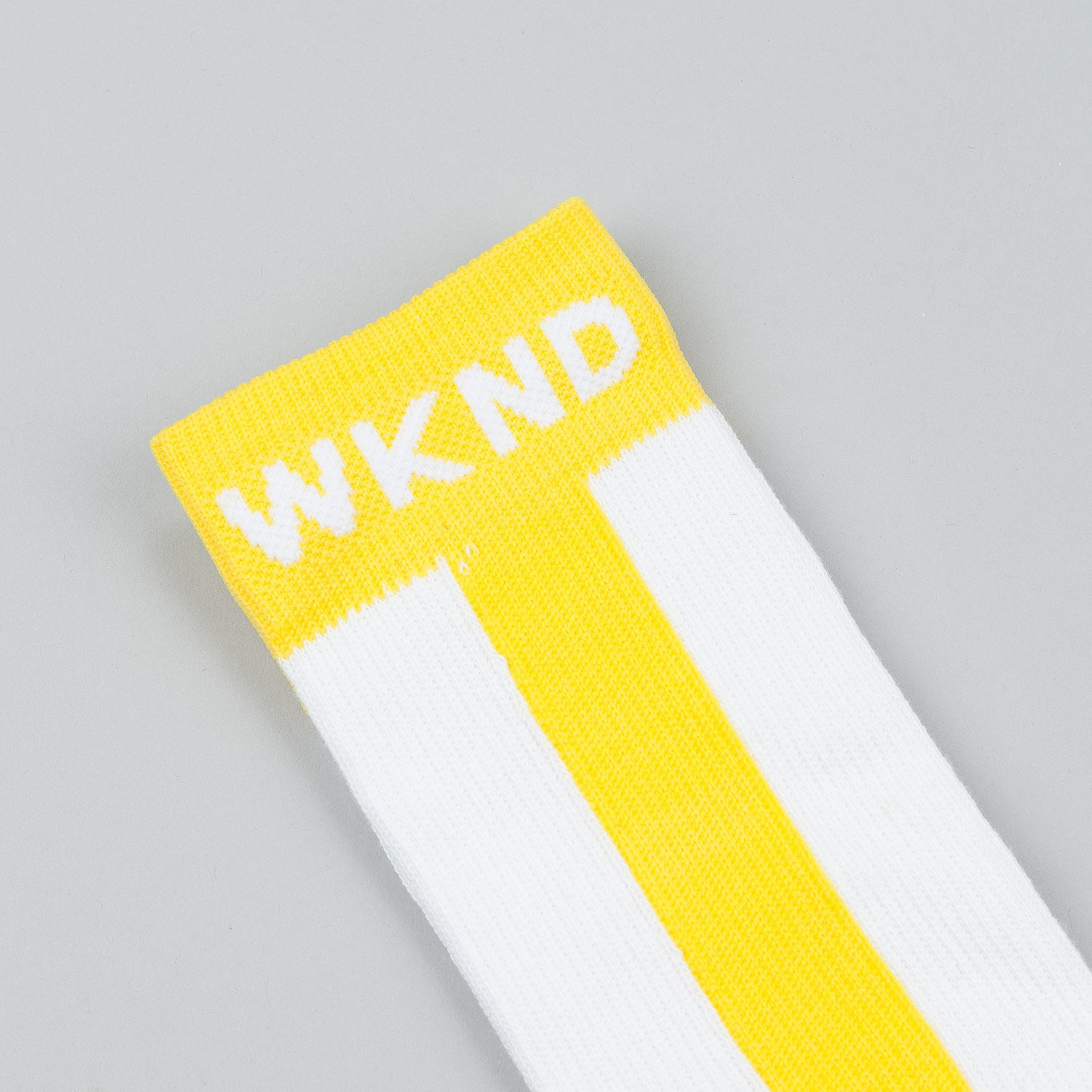 WKND Baseball Socks - Yellow