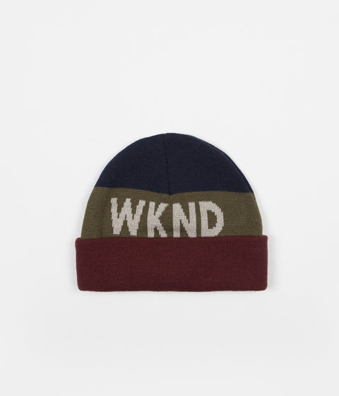 WKND Collison Watchcap Beanie - Red