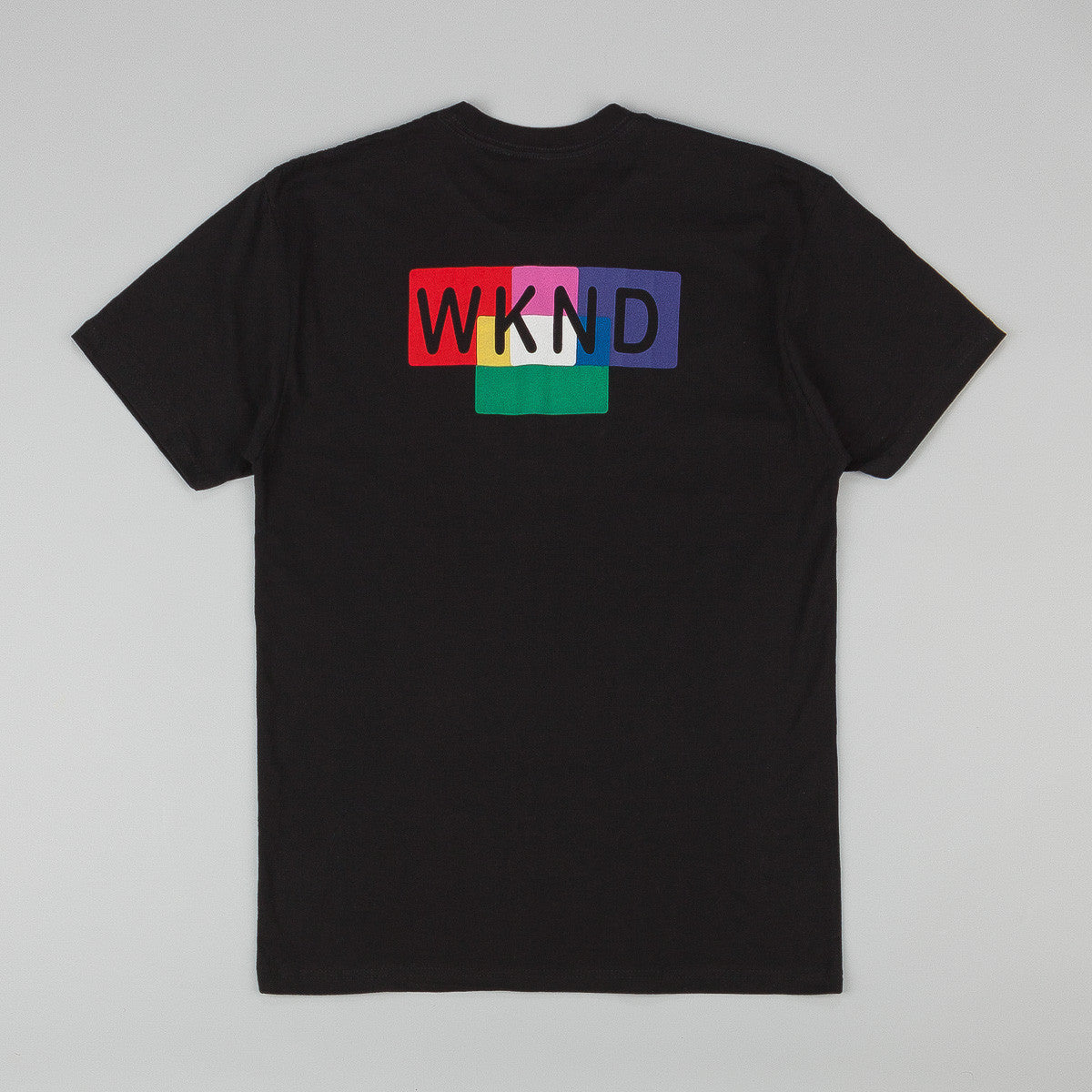 WKND Color Blocks T-Shirt - Black