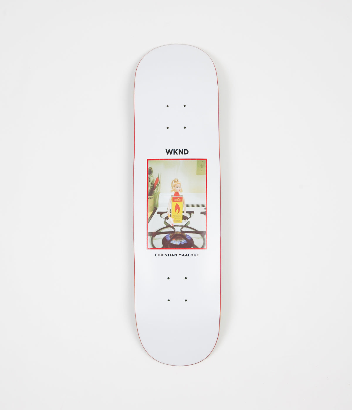 WKND Flame Girl CM Deck - 8.25""