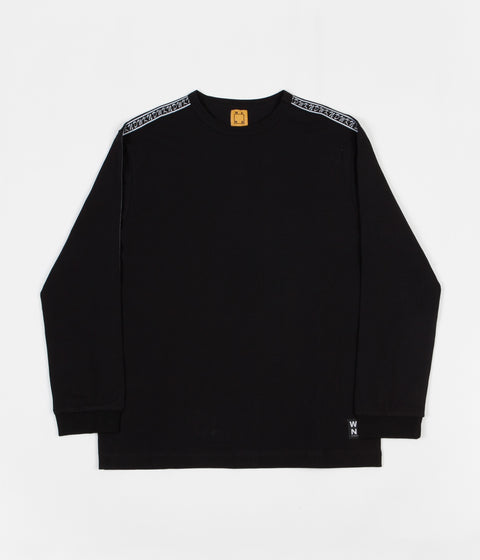WKND Flip The Script Long Sleeve T-Shirt - Black