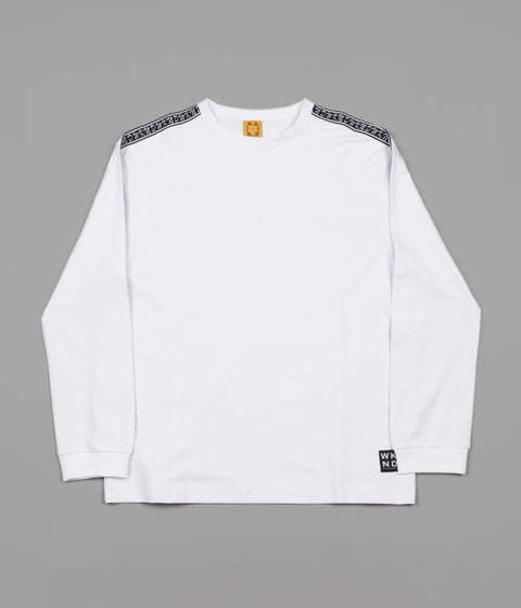 WKND Flip The Script Long Sleeve T-Shirt - White
