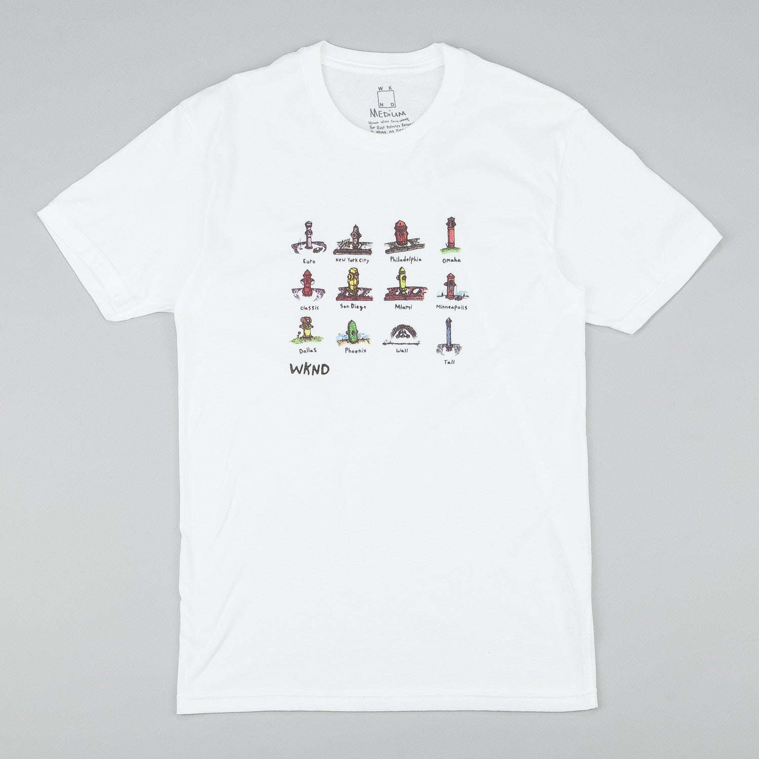 WKND Hydrants T-Shirt