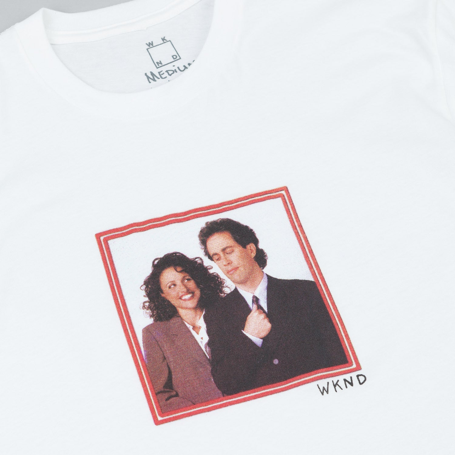 WKND Jerry & Elaine T-Shirt - White