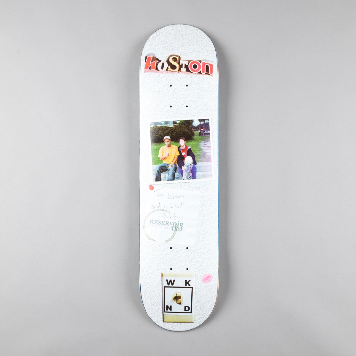 WKND Koston Hero Deck - 8.0""