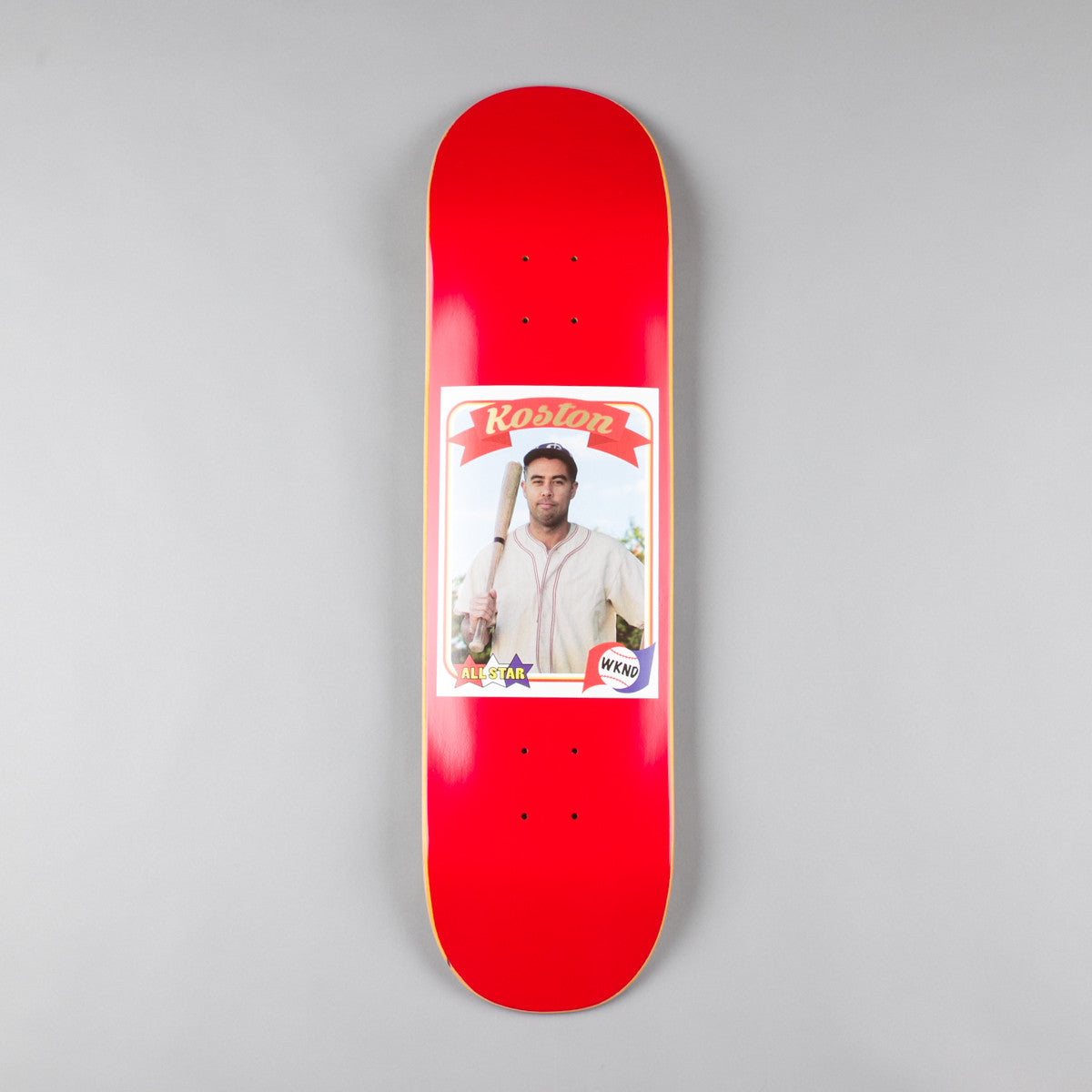 WKND Koston Trading Card Deck - 8.25""