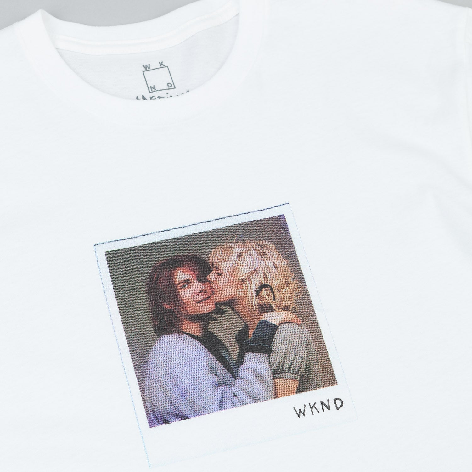 WKND Kurt & Courtney T-Shirt - White