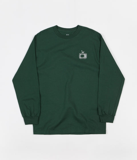 WKND TV Long Sleeve T-Shirt - Forest Green