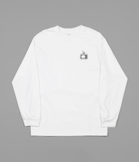 WKND TV Long Sleeve T-Shirt - White