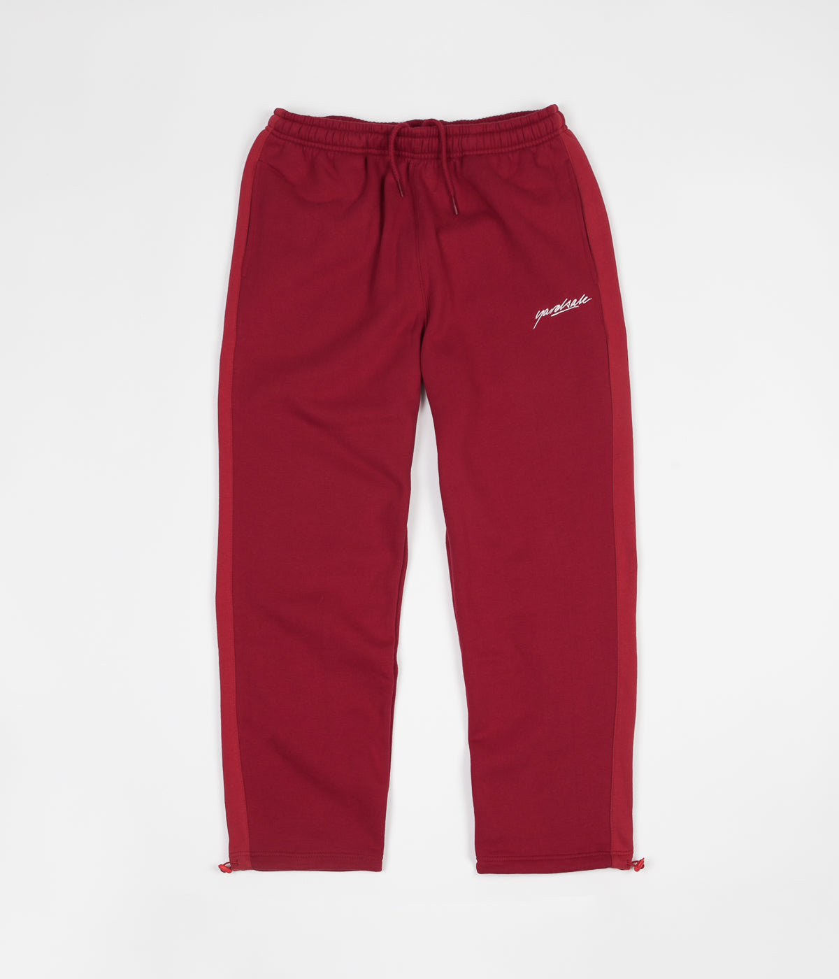 Yardsale 2Tone Tracksuit Sweatpants - Red / Dark Red