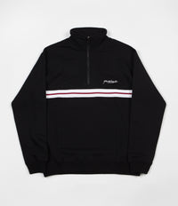Yardsale Blair Quarterzip Sweatshirt - Black