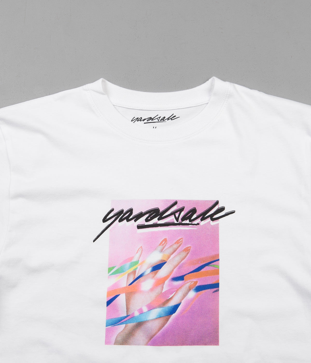 Yardsale Blush T-Shirt - White