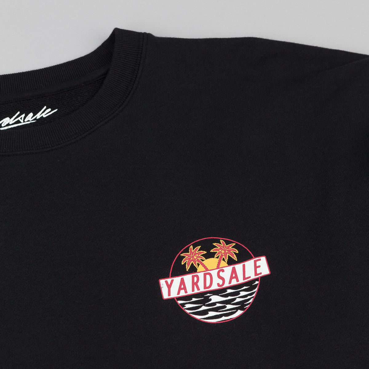 Yardsale Crew Neck Sweatshirt - Black