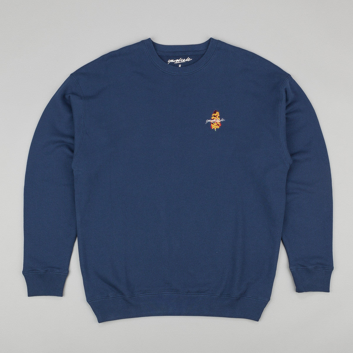 Yardsale Crew Neck Sweatshirt - Blue