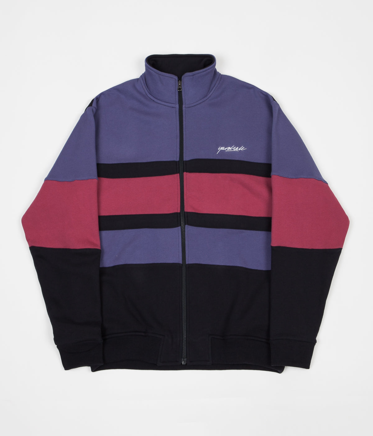 Yardsale Dior Full Zip Sweatshirt - Indigo / Red / Navy