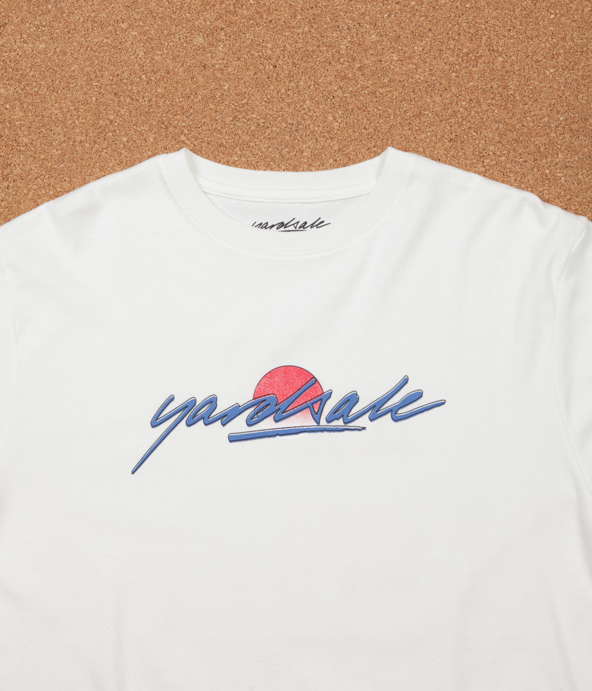 Yardsale Fade Long Sleeve T-Shirt - White