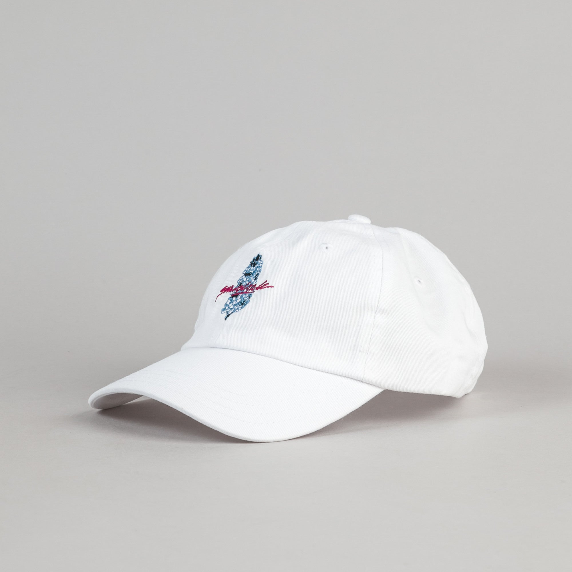 Yardsale Floral 6 Panel Cap - White
