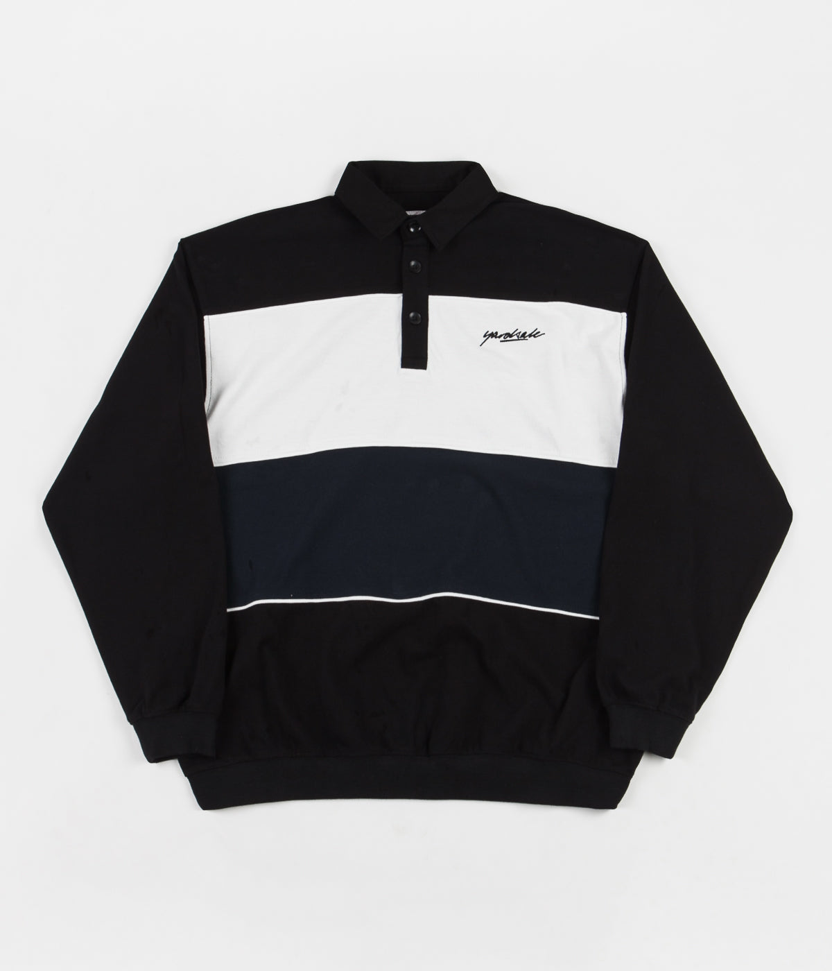 Yardsale Heat Polo Sweatshirt - Black