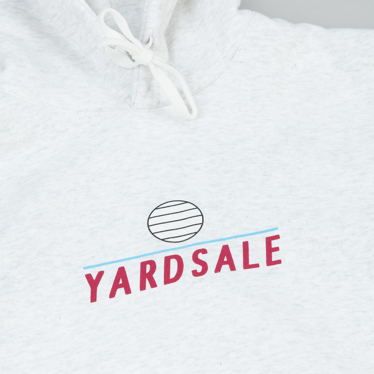 Yardsale Hooded Sweatshirt Ash Grey