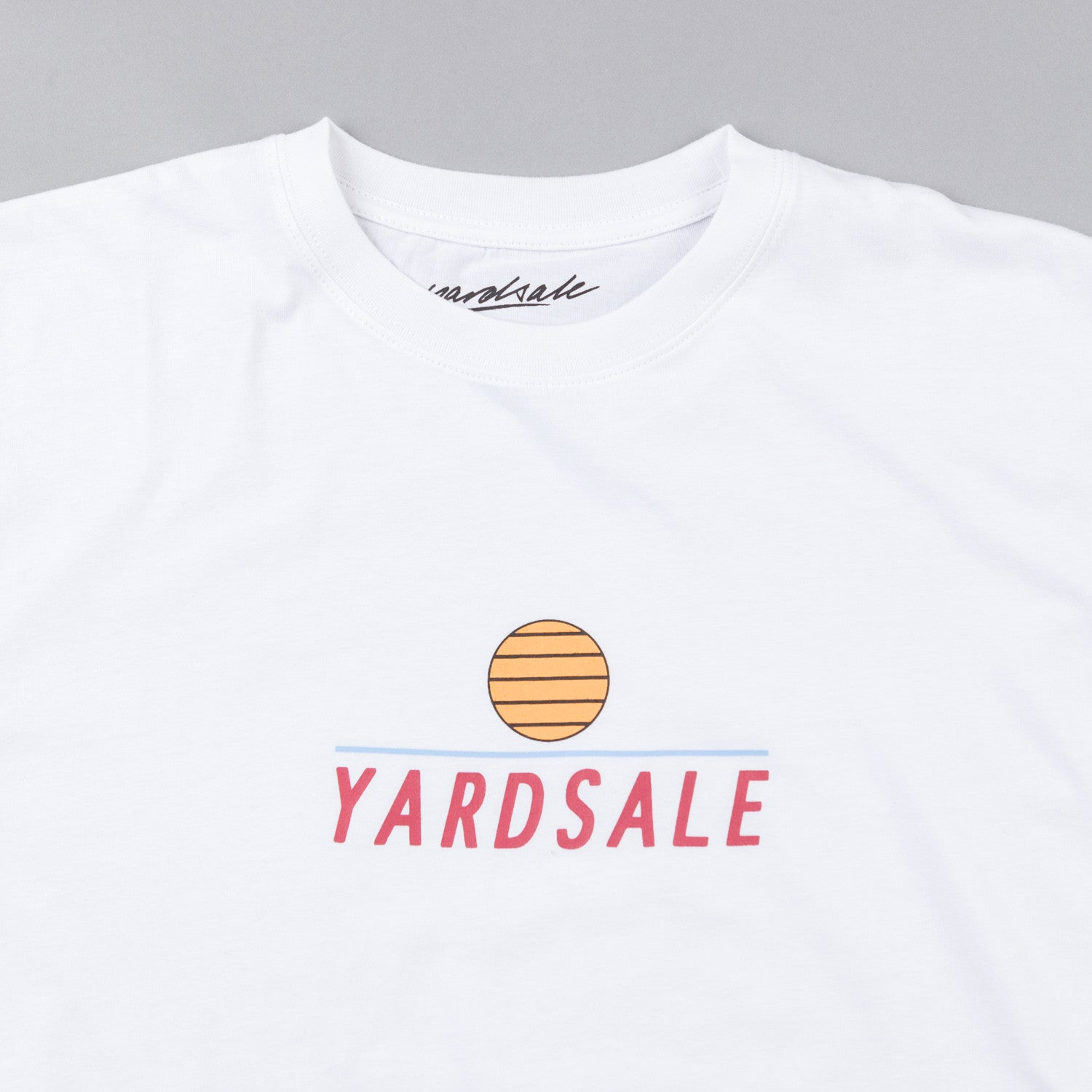 Yardsale Long Sleeve T-Shirt - White