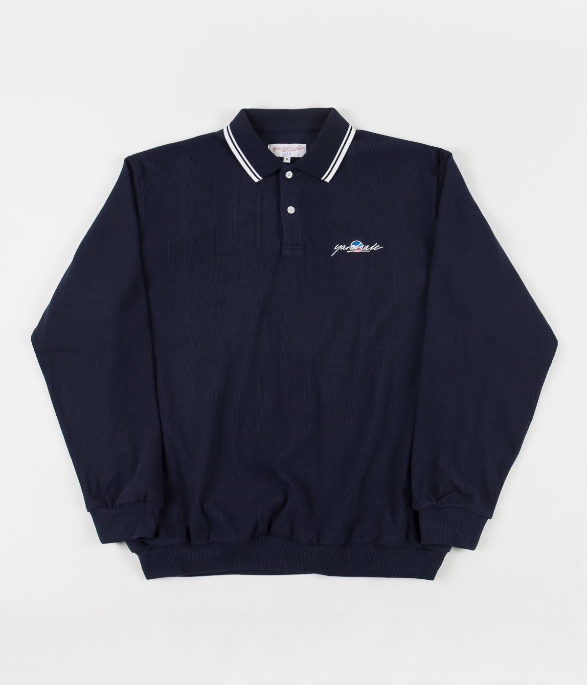 Yardsale Lounge Polo Sweatshirt - Navy