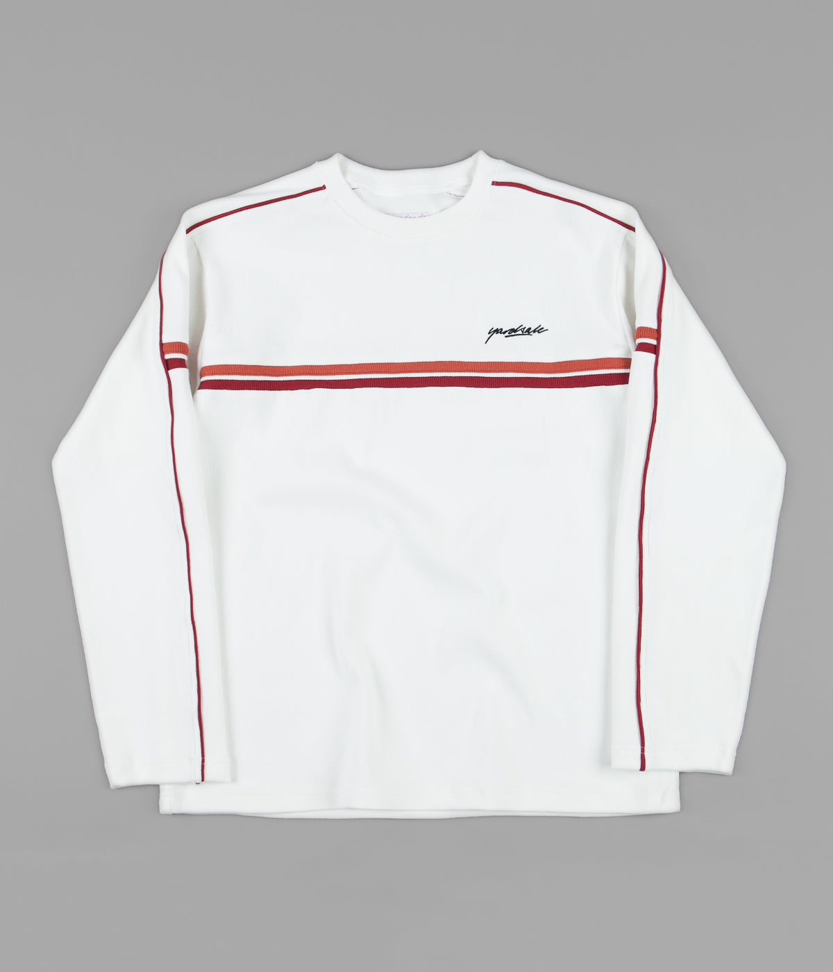 Yardsale Pacific Ribbed Crewneck Sweatshirt - Off White