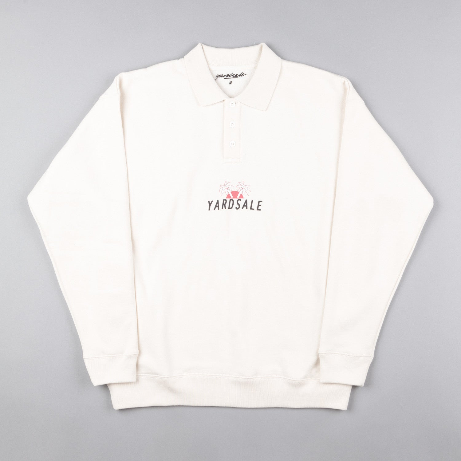 Yardsale Palm Polo Sweatshirt