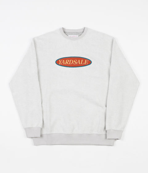 Yardsale Phase Crewneck Sweatshirt - Ash Grey