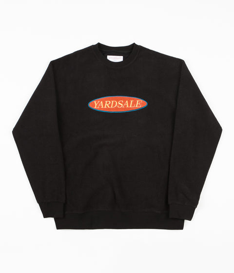 Yardsale Phase Crewneck Sweatshirt - Black