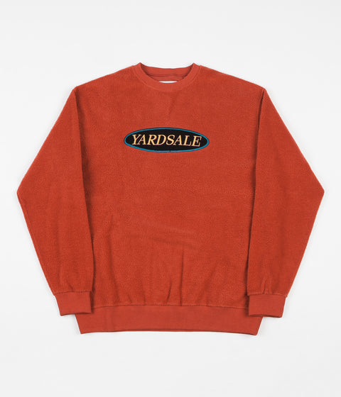 Yardsale Phase Crewneck Sweatshirt - Burnt Orange