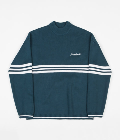 Yardsale Pierre Knitted Sweatshirt - Emerald