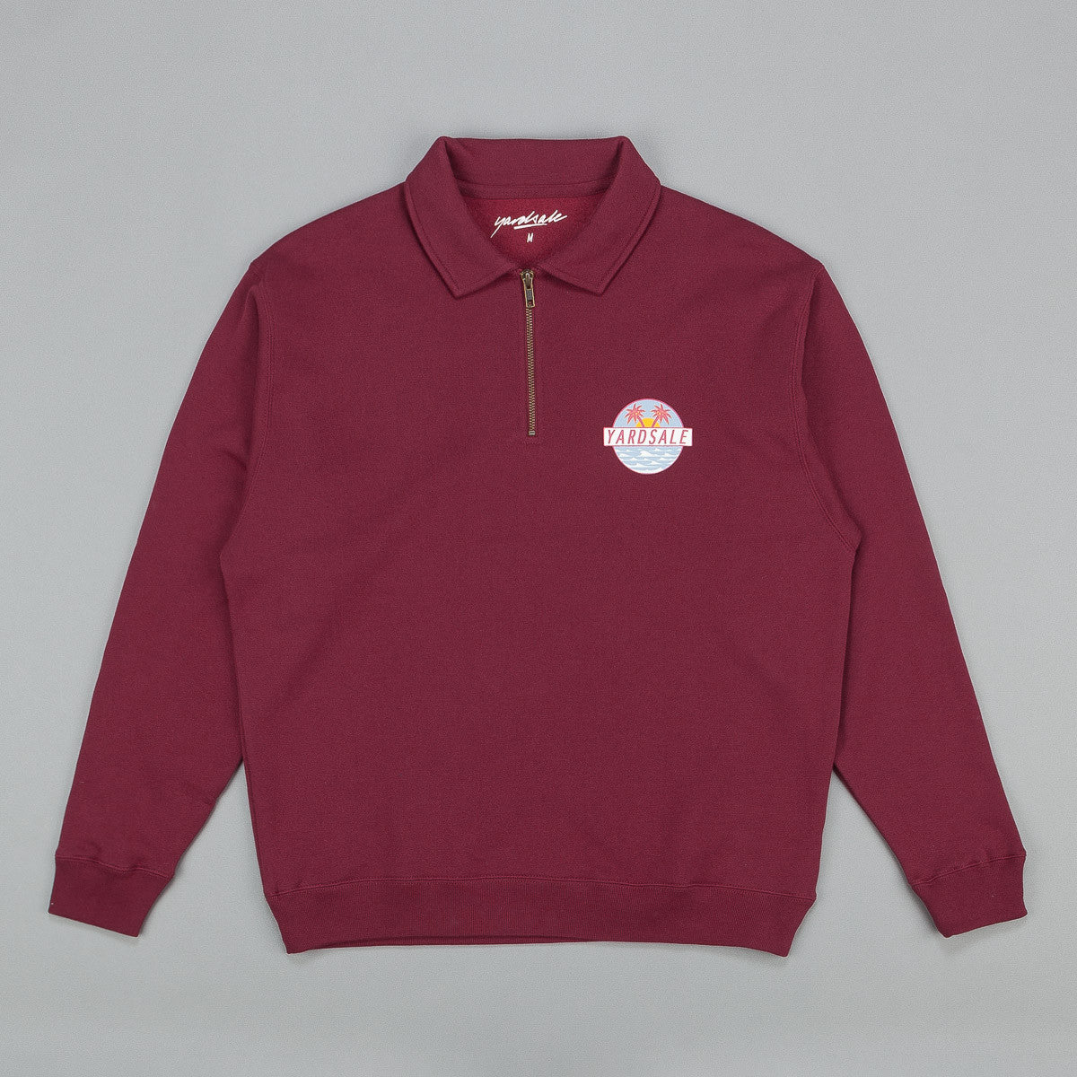 Yardsale Quarterzip Sweatshirt - Shiraz