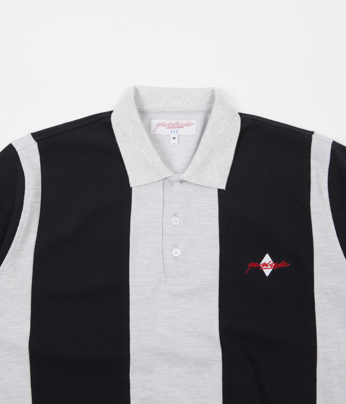 Yardsale Quartz Polo Shirt - Black / Ash