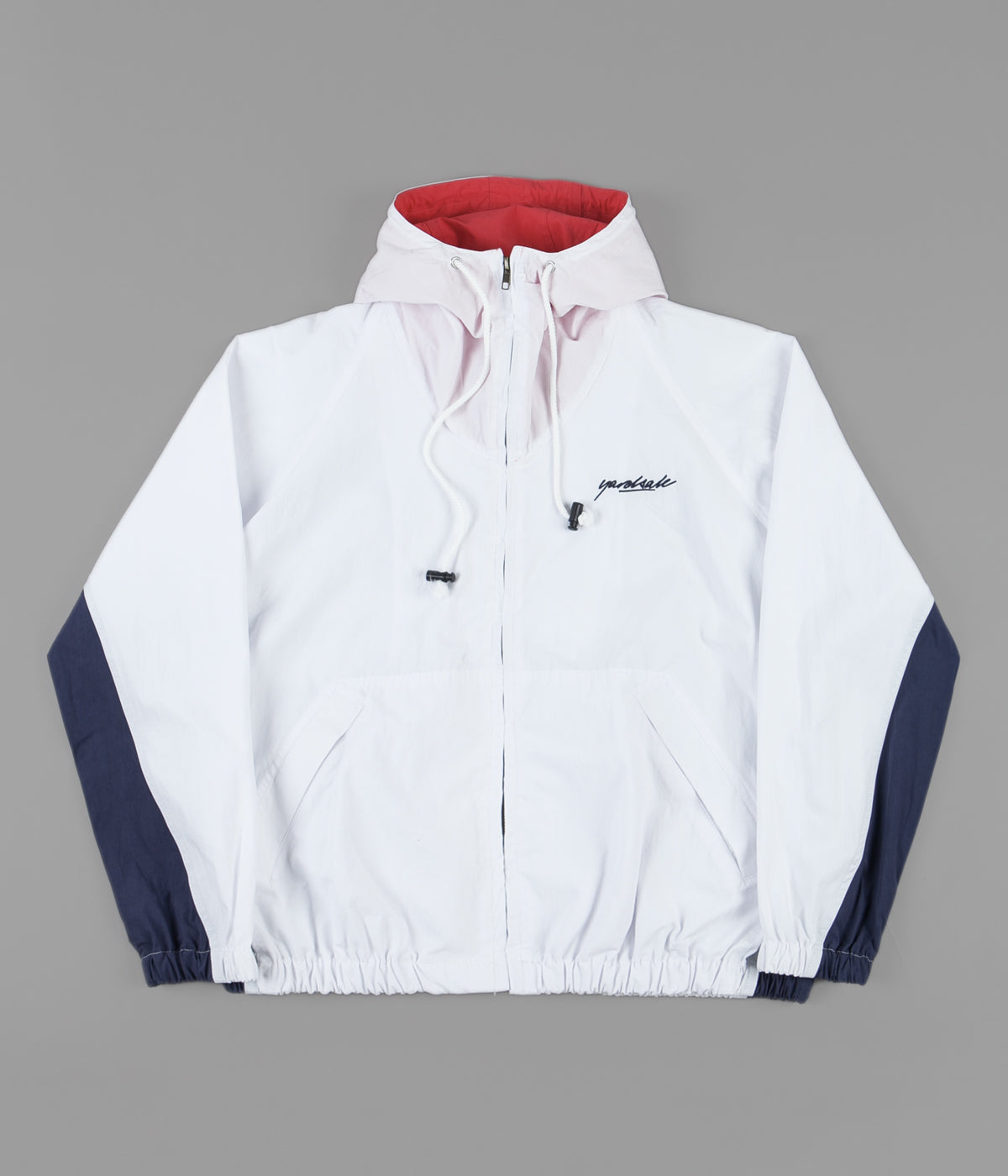 Yardsale SEN Shell Jacket - White / Navy