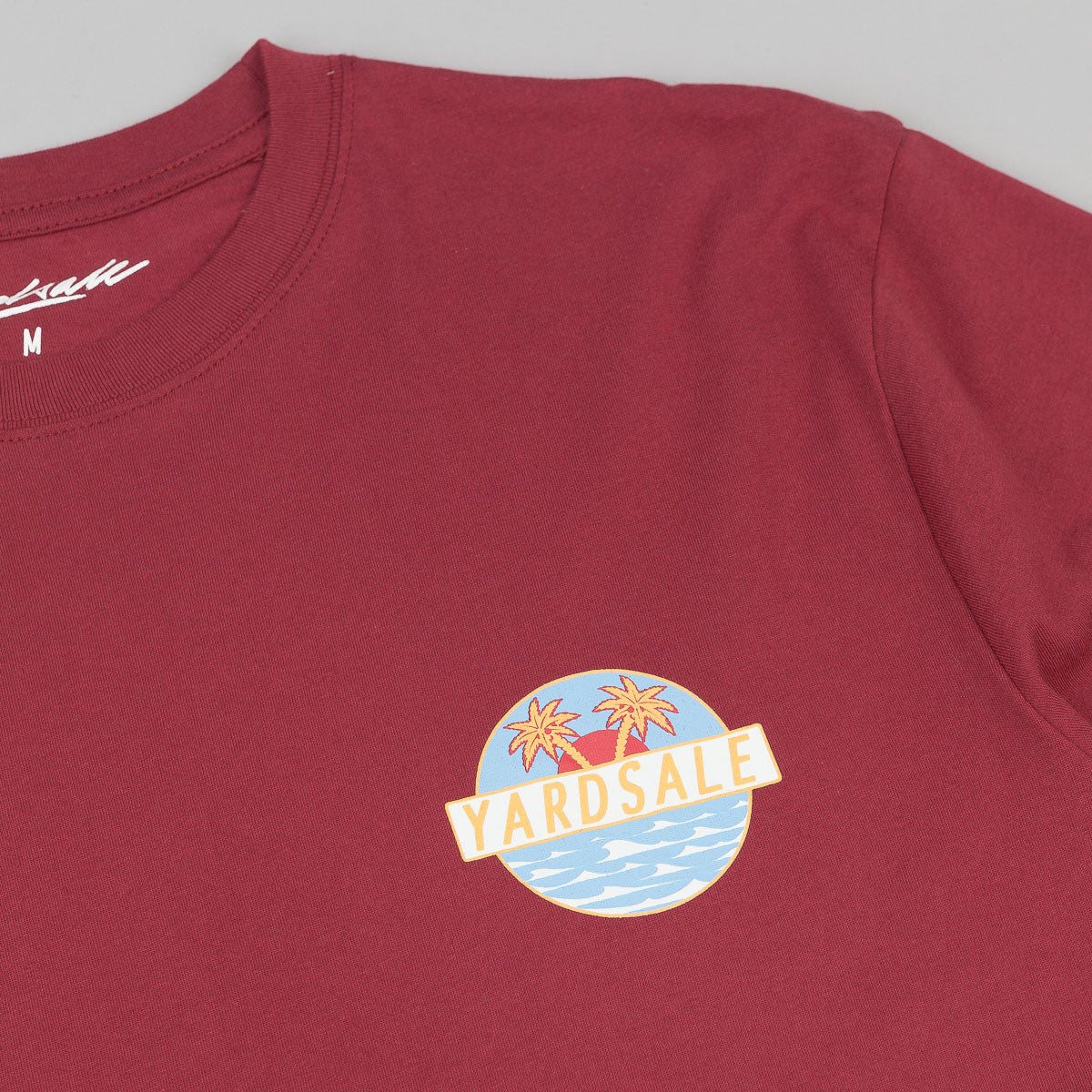 Yardsale T-Shirt - Burgundy
