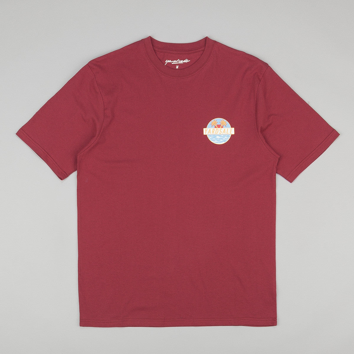Yardsale Short Sleeve T-Shirt - Burgundy