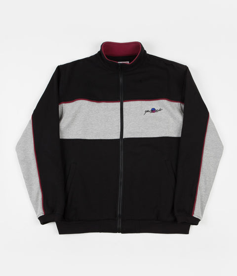 Yardsale Southside Track Jacket - Black / Heather