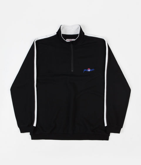 Yardsale Sunscript Quarter Zip Sweatshirt - Black